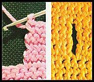 comment faire une boutonniere verticale au tricot
