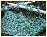 tricoter 3 mailles ensemble