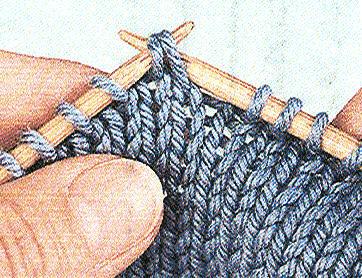 tricoter 2 mailles ensemble a l'envers torse