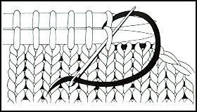 comment tricoter echarpe a volants